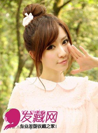 刘海发型图片 打造夏日最美刘海发型(3)图片