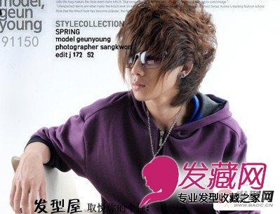 【图】男发型设计图片 非主流帅气男生发型(7)_男士