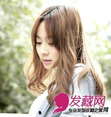 中短发卷发发型图片 时尚浪漫卷发发型图片(4)