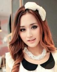 时尚卷发发型设计 展现女生浪漫气质