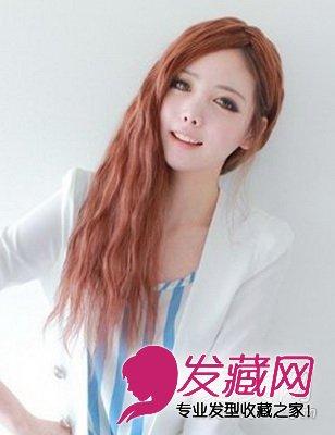 设计(7)  导读:麦穗烫中长发发型 时尚 韩式女生发型 ,随性侧肩披发中