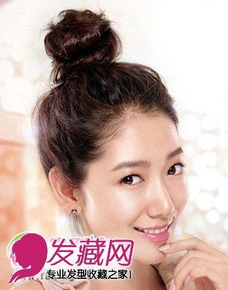 【图】韩式发型扎法 2015最新女生韩式发型(2)