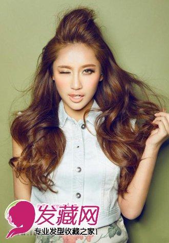 自然舒服 百搭女生中长发发型设计(2)