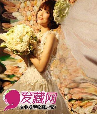新娘发型大猜想 林心如婚纱照 →陈妍希新娘发型 准新娘陈妍希会用图片