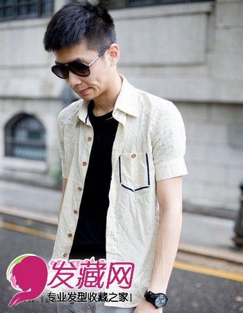 男生短发发型 男生短发发型名称(4)图片