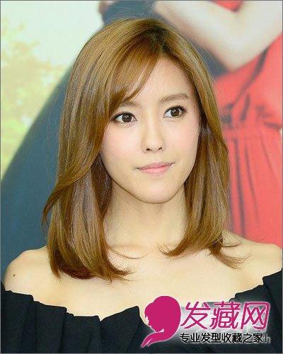 韩式发型 > 秋季韩国女生清新bob短发发型图片(4)  导读:这款齐肩短发
