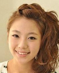 刘海发型图片 清新时尚女生刘海发型图片