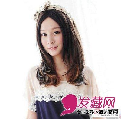 时尚俏丽的梨花头发型图片(3)