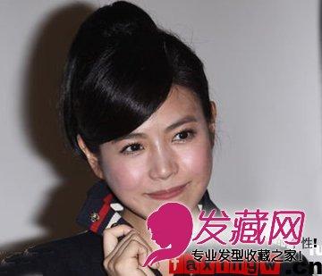 【图】包子脸陈妍希v包子适合的俏皮活泼马尾美人鱼卡通图片发型图片