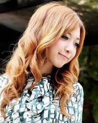 秋季女人味卷发 时尚浪漫卷发发型图片