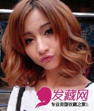 秋季女人味卷发 时尚浪漫卷发发型图片(3)图片