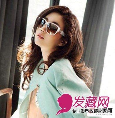 中短发卷发发型图片 时尚靓丽迷人的卷发发型图片(3)