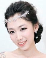 六月新娘发型 清新唯美新娘盘发图片分享