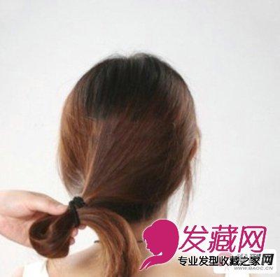 长发如何盘发 淑女气质的韩式盘发发型图片图片