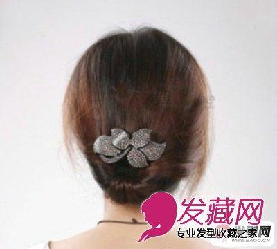 让你年轻10岁的发型 →脸大留什么发型好看 韩系风格花苞头盘发 →小图片
