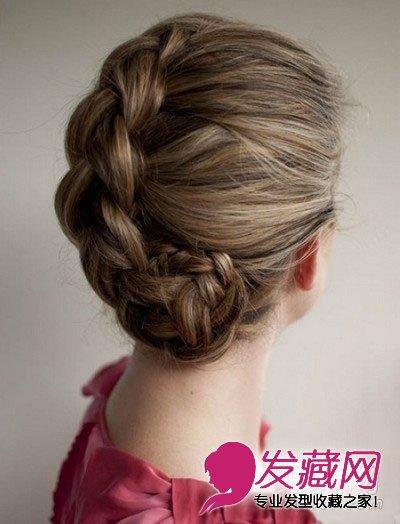 简单韩式盘发图解 最新盘发发型扎法图片