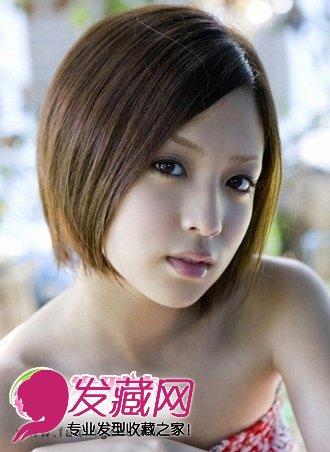 初秋富有层次感潮流短发发型当道(4)图片