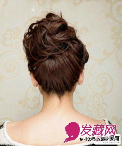 丸子头扎法 简单又好看的丸子头发型扎法(5)