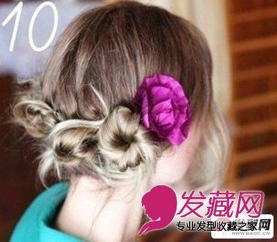 怎样盘发 时尚迷人的英伦盘发发型图解 10