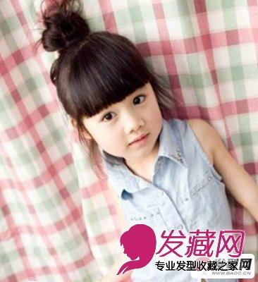 【图】可爱小孩 甜美萌系的小女孩发型图片(2)