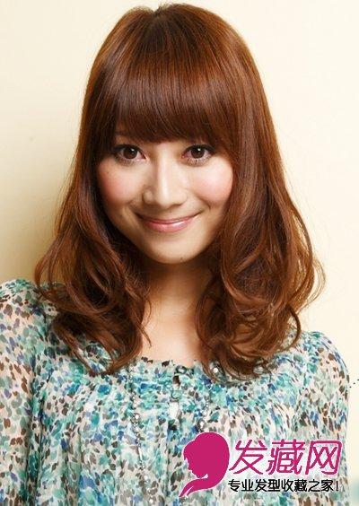 可爱活泼的5款卷发发型图片(4)