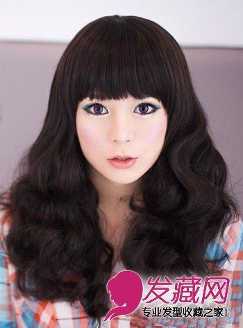 【图】最新韩式蛋卷头 甜美减龄超可爱_卷发发型图片