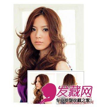 秋天流行烫发发型图片 带来温暖的感觉(3)图片