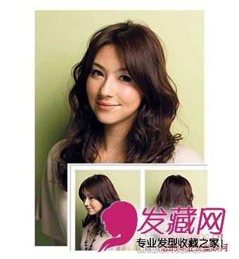 秋天流行烫发发型图片 带来温暖的感觉(5)图片