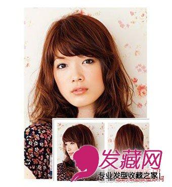 秋天流行烫发发型图片 带来温暖的感觉(8)图片
