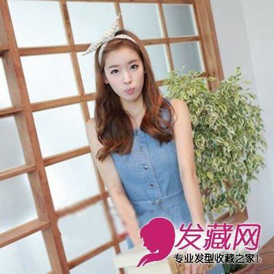 【图】韩国女生发型 韩式卷发俏皮可爱