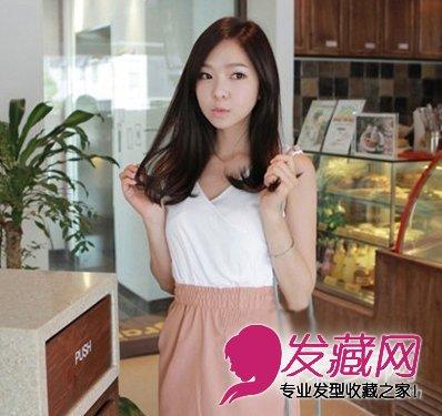 韩国女生发型 韩式卷发俏皮可爱(3)