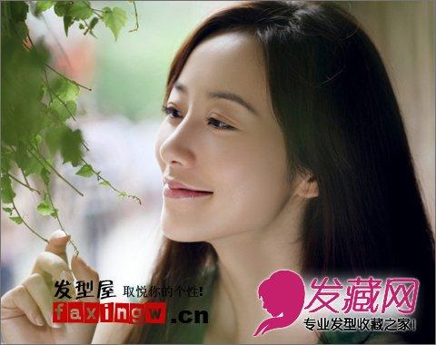 韩雪最新清纯长发发型图片 宛若邻家女孩(3)