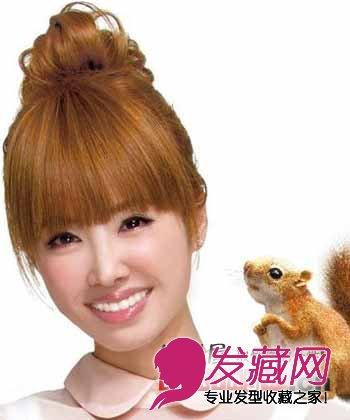 蔡依林发型 矮个女生适合的发型(4)