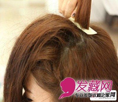 刘海发型 > 充满公主气质的韩式刘海发型图片(13)  导读:刘海编发第