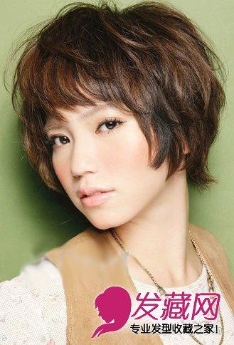中长发的发型_【图】七款最近秋季最流行的女生短卷发发型_卷发发型_发藏网