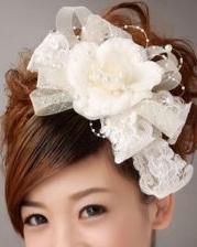 斜刘海的发型设计  梦幻唯美新娘