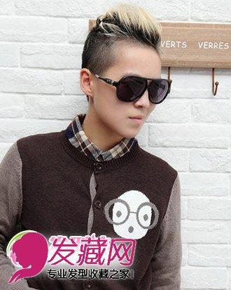 最新潮短发发型男生发型发型尽显帅气(3)鹿齐刘海男生晗图片