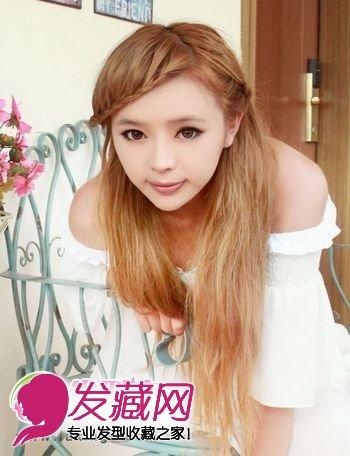 头发金丝图片欣赏_【图】刘海发型图片 各种花样刘海发型(2)_刘海发型_发藏网