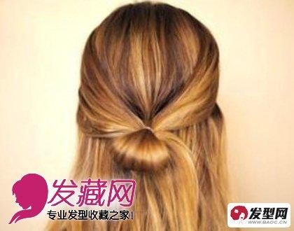 最新时尚英伦风编发发型教程图解(3)