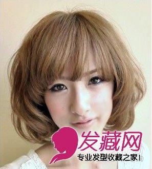 胖脸适合的发型 7款最新短发梨花头(6)