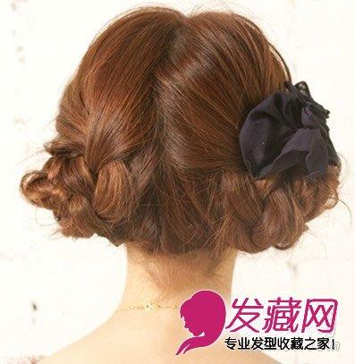 教程详细图解(8)  导读:韩式麻花辫编发盘发教程 时尚创意气质发型