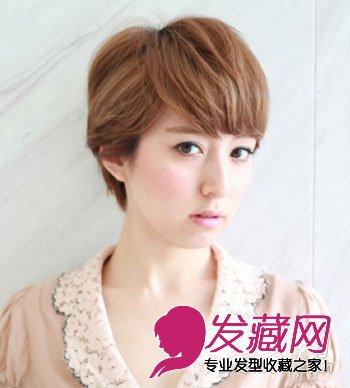 人气学生小清新短发 刘海提升气质(6)