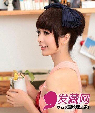 【图】小编力荐5款韩式发型 好看又瘦脸(4)_女生可爱图片
