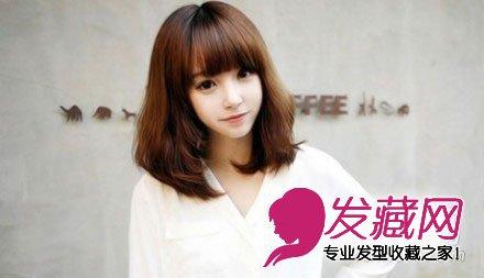 2015今季最新流行学生短发发型(3)