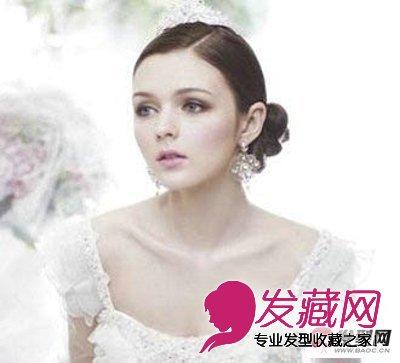 复古风新娘发型图片
