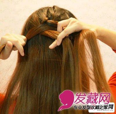 蜈蚣辫的编法图解 简单易学的时尚蜈蚣辫扎法发型(2)