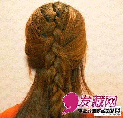 蜈蚣辫的编法图解 简单易学的时尚蜈蚣辫扎法发型(3)