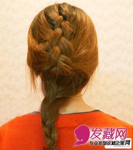 蜈蚣辫的编法图解 简单易学的时尚蜈蚣辫扎法发型(4)
