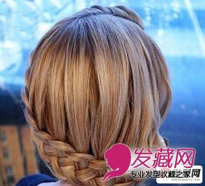 双层麻花辫教程图解 →10款波西米亚风编发 单侧麻花辫编发发型
