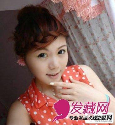 【图】斜刘海发型图片